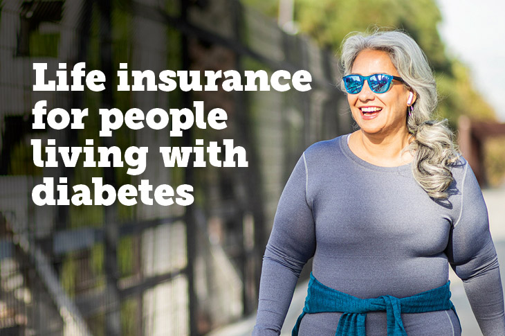 Life insurance for people living with diabetes